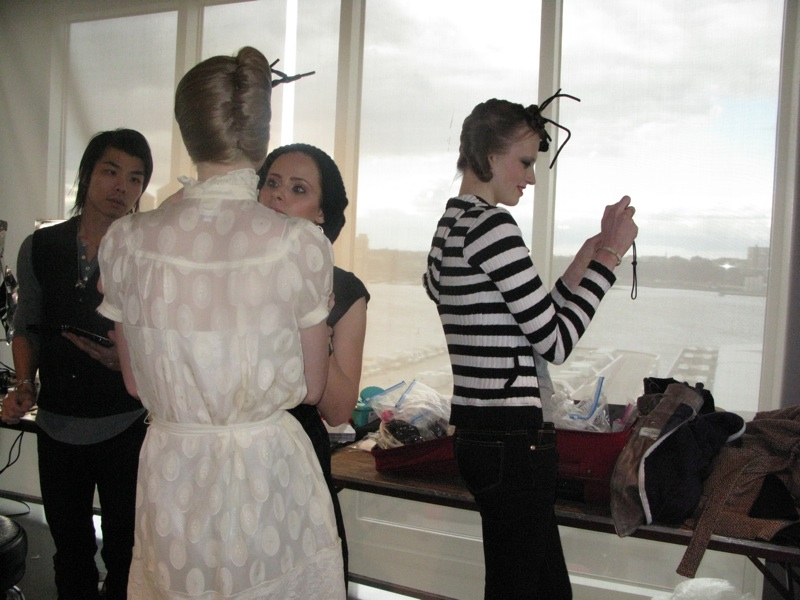 Backstage At Kai Kuhne