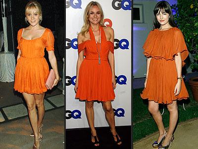 LOVE IT OR HATE IT: ORANGE DRESSES