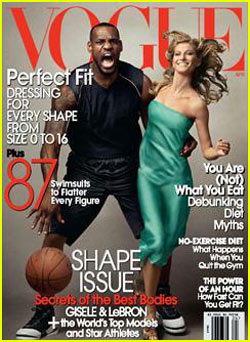 LeBron James is a Vogue Cover Model