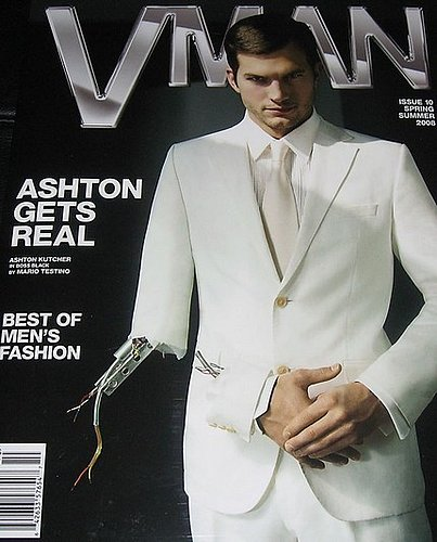Ashton Kutcher in VMan.