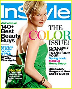 "Renee Zellweger - ""InStyle"" April 2008"