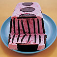 pop-art raspberry icebox cake