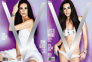 Demi Moore in V Magazine