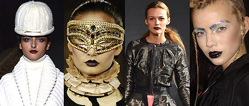 Black Lipstick Trend at Fall 2008 London Fashion Week