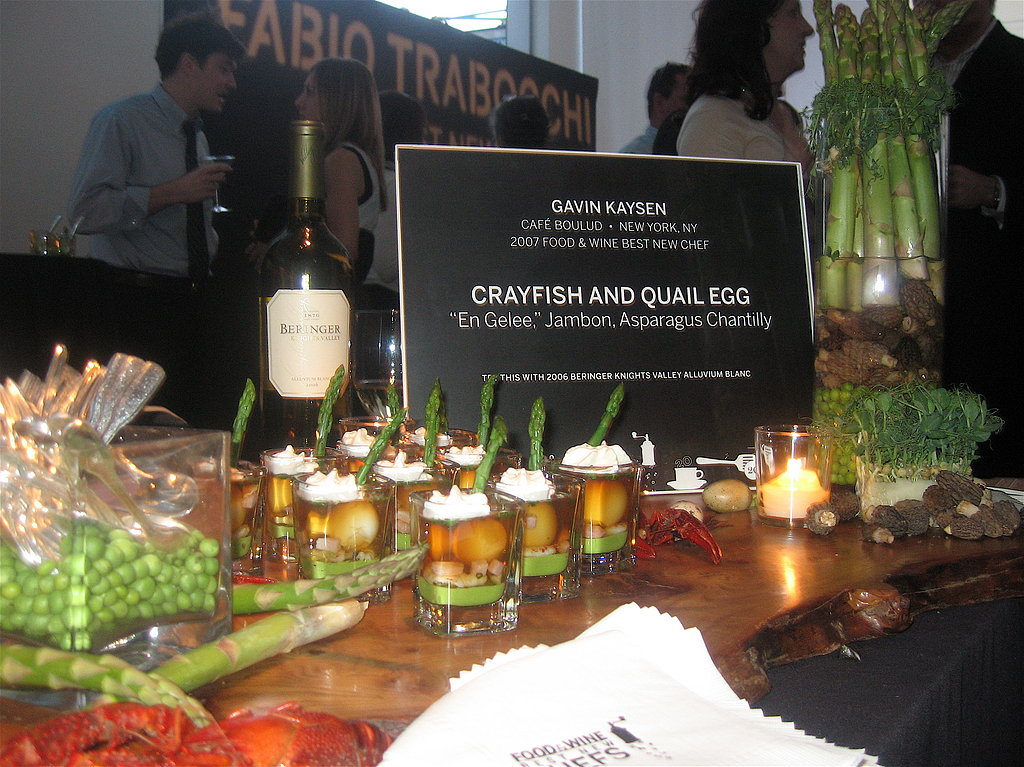 Gavin Kaysen's Crayfish and Quail Egg