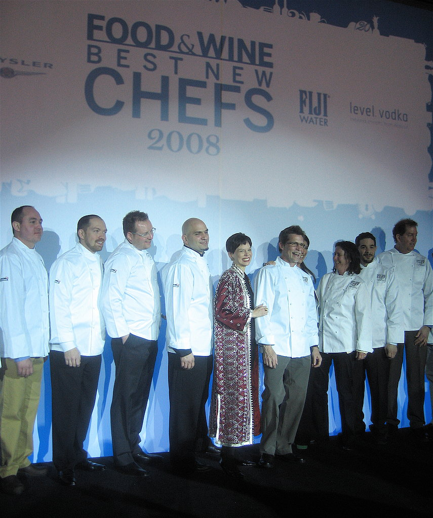 Rick Bayless with the Best New Chefs
