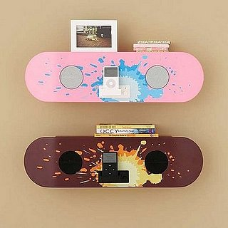 Pottery Barn Skateboard Speaker Shelf