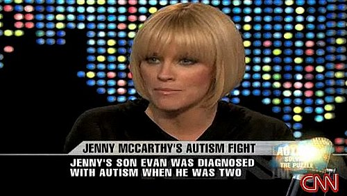 Jenny McCarthy Speaks Out on Autism With Larry King