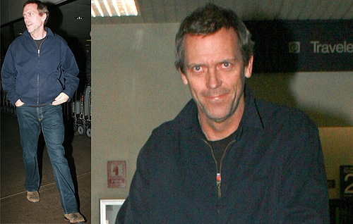 Hugh Laurie Lands In LA To Begin Shooting House Again