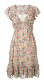 Fab Worthy: Ditsy Print Tea Dress