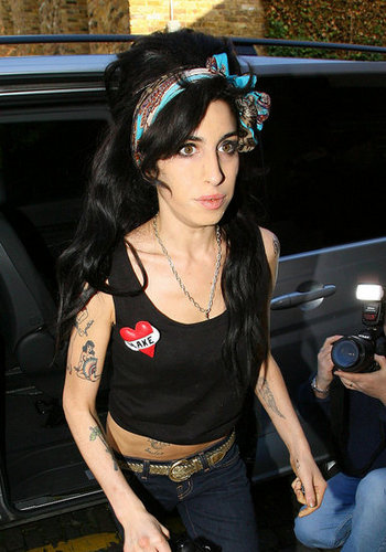 Fab Flash: Amy Winehouse for Roberto Cavalli?