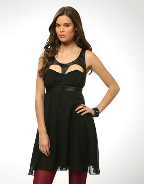 Love It or Hate It: Lipsy Cut Out Silk Chiffon Dress