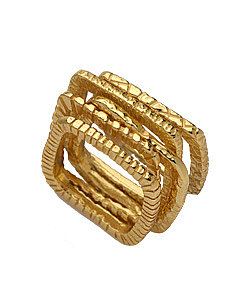 Gorjana Gold Square Stackable Rings