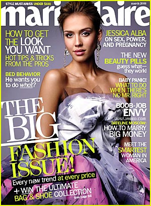 "Jessica Alba - ""Marie Claire"" March 2008"