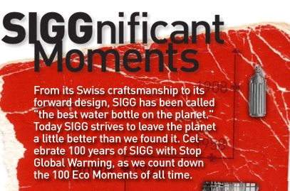 100 Years of Sigg, 100 Eco Moments