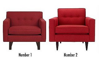 Less or More: Rouge Armchairs