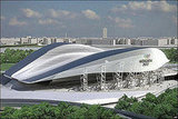Design for 2012 Olympic Aquatic Center in London