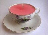 Learn to make your own teacup candles in this easy DIY. Source