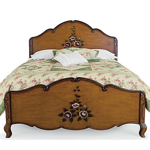 Steal of the Day: Briar Hill Antiqued Bed