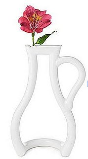 Love It or Hate It? Portrait of a Flower Outline Vase