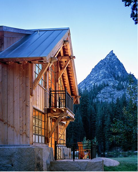 Coveted Crib:  A Mountain Retreat