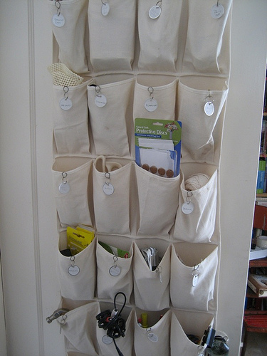 Behind-The-Door Storage
