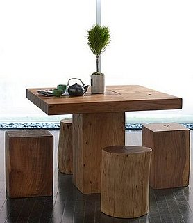 Crave Worthy: Horchow Block Bois Breakfast Table