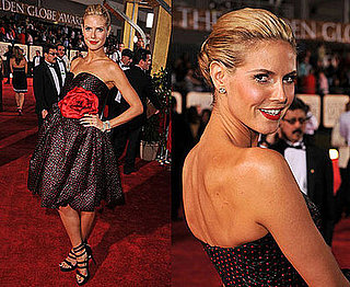 Golden Globe Awards: Heidi Klum
