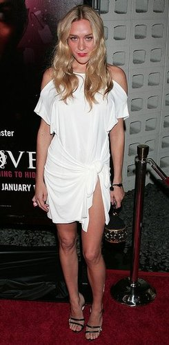 Chloe Sevigny in Marios Schwab White Dress at the Big Love Premiere in LA