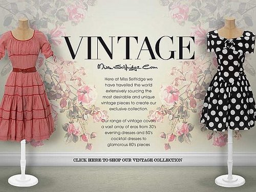 On Our Radar: Miss Selfridge Presents New Vintage Range