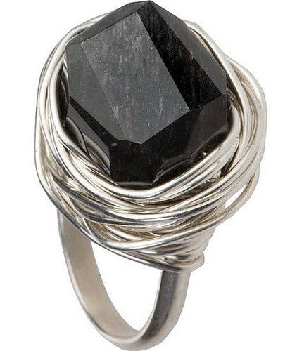 The Look for Less: Judith Bright Lots O'Rocks Labradorite Ring