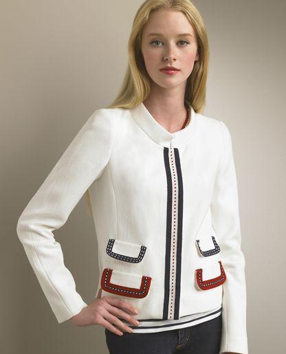 D&G Dolce & Gabbana Trimmed Jacket