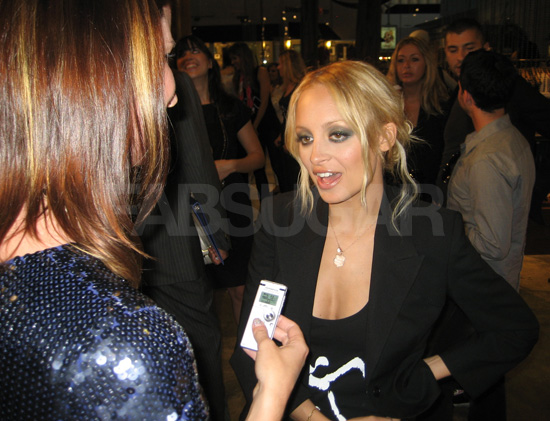Nicole Richie Cusp event and interview