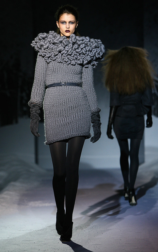 Julien Macdonald Knit Collar