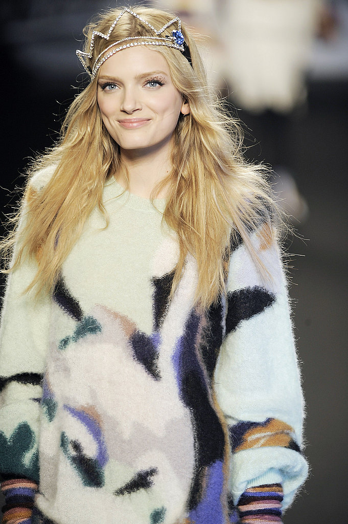 All Smiles and Tiaras at Sonia Rykiel