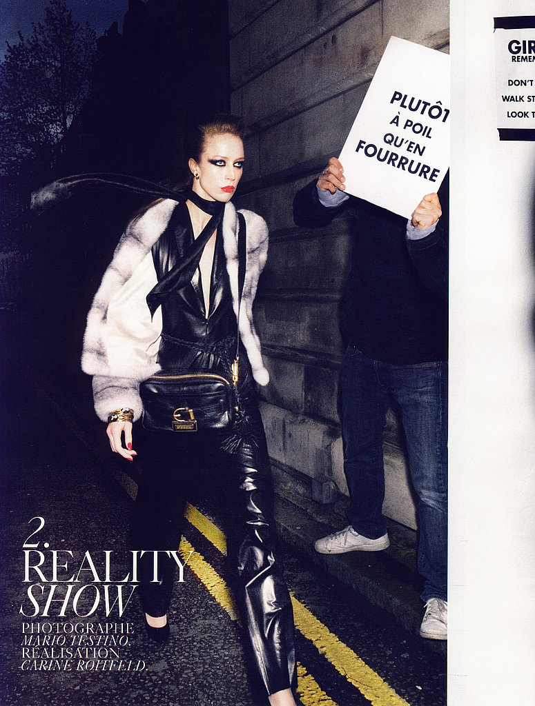 Pro-Fur in August Paris Vogue