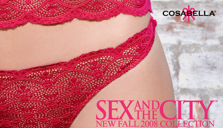 Cosabella Fall SATC Lingerie Collection