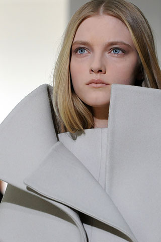 Dramatic Folds at Jil Sander