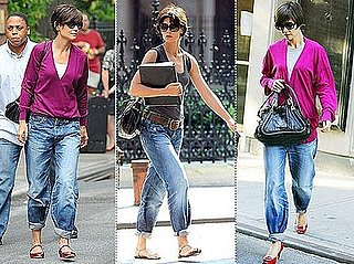 Katie Holmes Really Loves Her Pegged Jeans