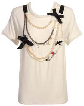 Lanvin T-Shirt With Jewel Necklace: Love It or Hate It?