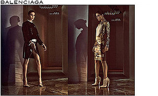 Charlotte Gainsbourg Stars in Balenciaga's Fall 2008 Advertisements