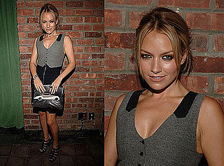 Becki Newton Attends the Intermix 15th Anniversary Party in an Alexander Wang Dress