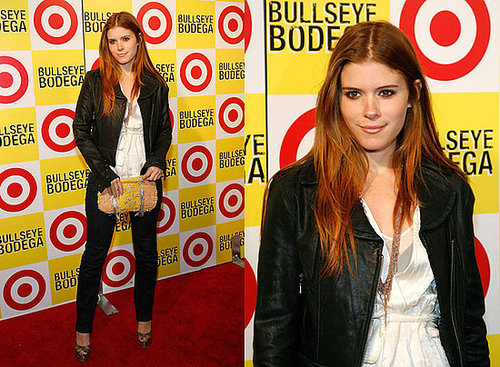 Kate Mara Attends Target Bullseye Bodega in Manhattan