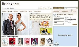 Fab Site: Oscar de la Renta Guest Blogs on Brides.com