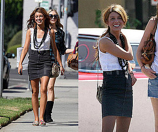90210 Actress Shenae Grimes Hangs Out in LA With Friends