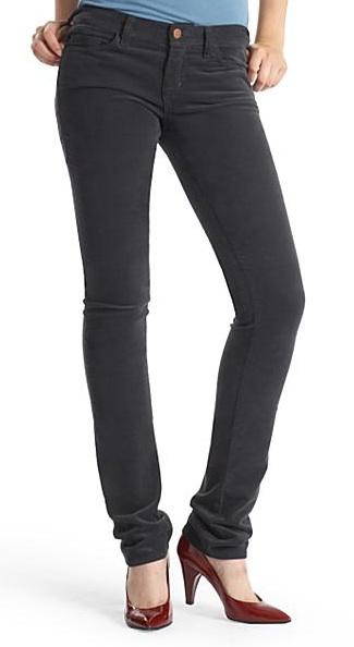 J Brand Skinny Corduroy Pants, Kingsford Wash