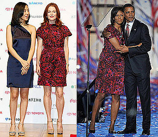 Michelle Obama and Julianne Moore Wear the Same Thakoon Dress