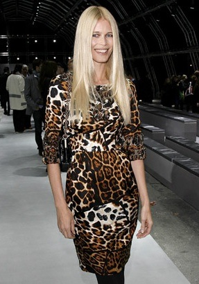 Stefano Pilati Chooses Claudia Schiffer For Yves Saint Laurent Spring Campaign