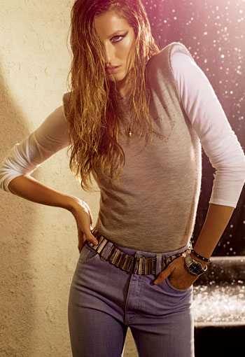 Girls on Film: Gisele Bundchen, Elle, November