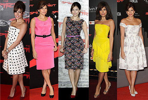 Which Eva Mendes The Spirit Look Is Most Fab?
